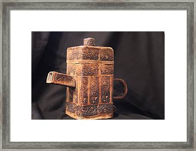 Teapot Framed Print by Ghazel Rashid