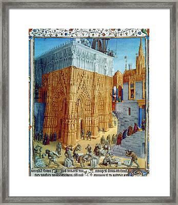 Temple Of Jerusalem Framed Print by Granger