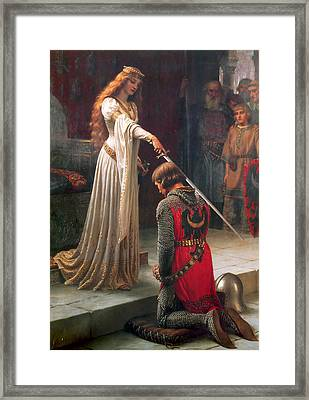 The Accolade Framed Print by Philip Ralley