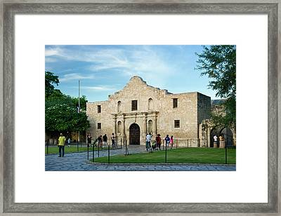 The Alamo, San Antonio, Texas, Usa Framed Print by Brian Jannsen