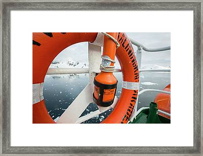 The Antarctic Peninsular Framed Print by Ashley Cooper