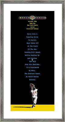 The Catch Framed Print by Ron Regalado