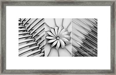 The Cutlery Set Framed Print by Natalie Kinnear