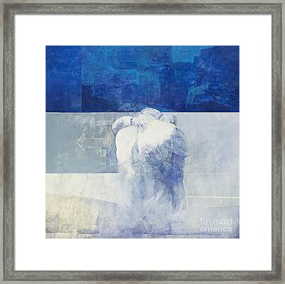 The Embrace By Pedro Cano Framed Print by Roberto Morgenthaler