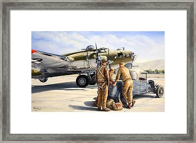 The Gunners Framed Print by Ruben Duran