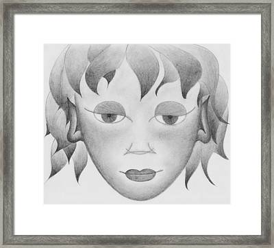 The Little Prince Framed Print by Marianna Mills