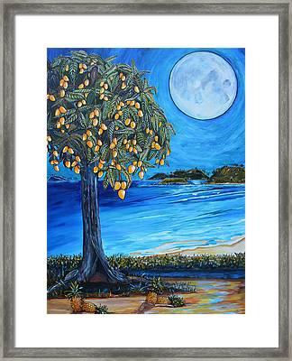 The Mango Tree Framed Print by Patti Schermerhorn
