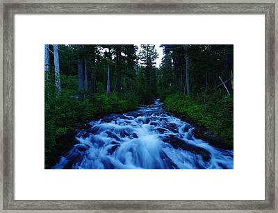 The Paradise River Framed Print by Jeff Swan
