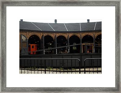 The Roundhouse Framed Print by Gary Marx