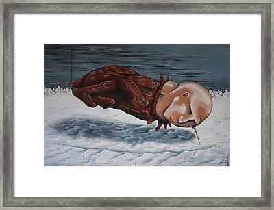The Rut Framed Print by Matthew Blum