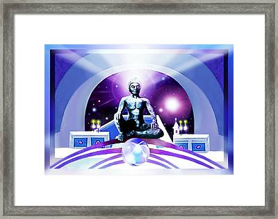 The  Seeker Framed Print by Hartmut Jager