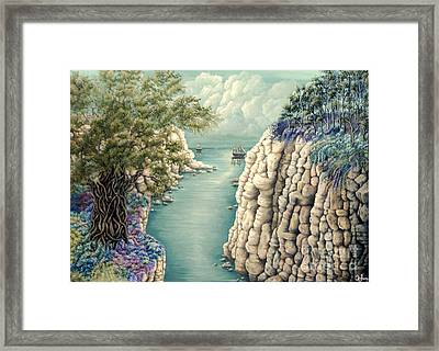 The Way Framed Print by Mylene Le Bouthillier