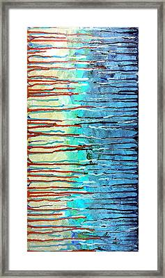Thru The Storm 7 Framed Print by Lady Ex