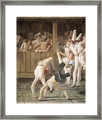 Tiepologiovanni Domenico 1727-1804 Framed Print by Everett