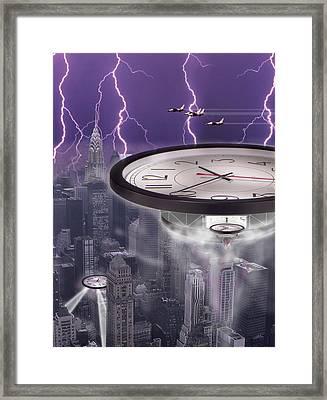 Time Travelers 2 Framed Print by Mike McGlothlen