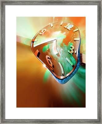 Time Warp Framed Print by Detlev Van Ravenswaay