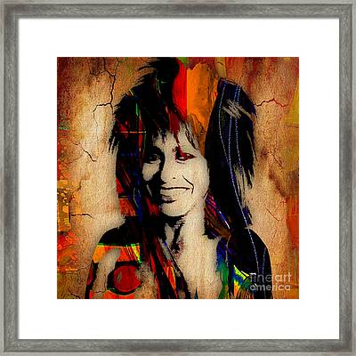 Tina Turner Collection Framed Print by Marvin Blaine
