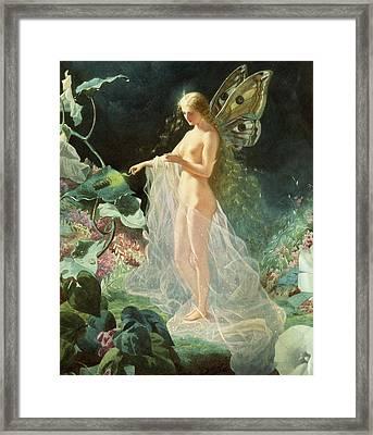 Titania Framed Print by John Simmons