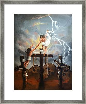Today Framed Print by Ricardo Colon