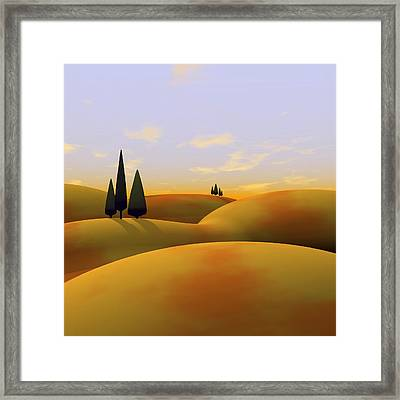 Toscana 3 Framed Print by Cynthia Decker