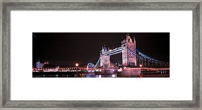 Tower Bridge London England Framed Print by Panoramic Images