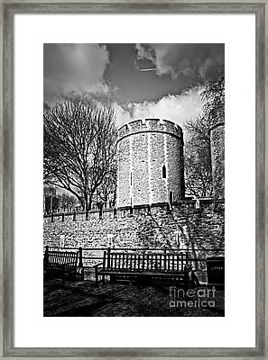 Tower Of London Framed Print by Elena Elisseeva