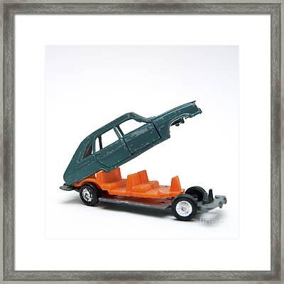 Toy Car Framed Print by Bernard Jaubert