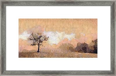 Tree Framed Print by Odon Czintos