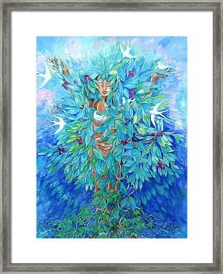 Tree Of Life  Framed Print by Trudi Doyle