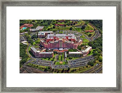 Tripler Army Medical Center - Honolulu Framed Print by Mountain Dreams