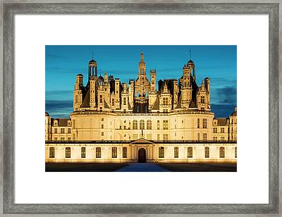 Twilight Over The Massive, 440 Room Framed Print by Brian Jannsen