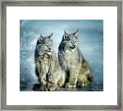 Twins Framed Print by Gun Legler