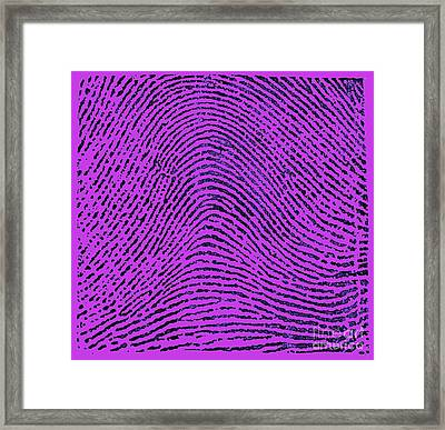 Typical Arch Pattern 1900 Framed Print by Science Source