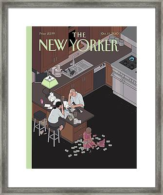 Untitled Framed Print by Chris Ware