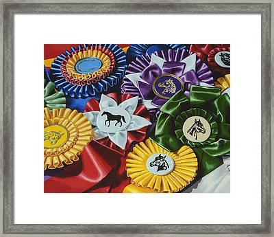 Untittled Framed Print by Lesley Alexander