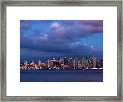 Usa, California, San Diego Framed Print by Ann Collins