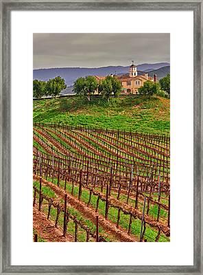 Usa, California, Temecula Framed Print by Richard Duval