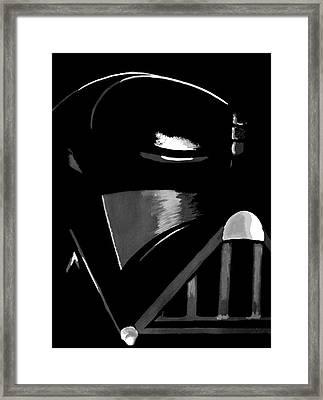 Vader Framed Print by Dale Loos Jr