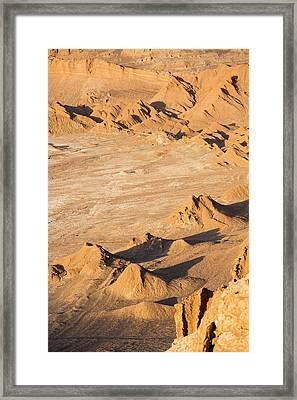 Valle De La Luna Framed Print by Peter J. Raymond
