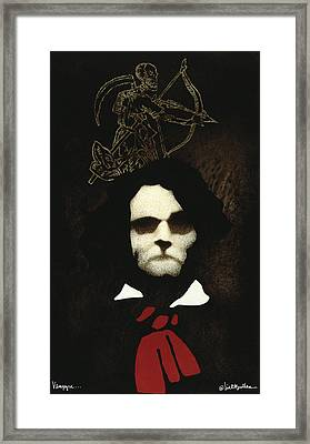 Vampyre... Framed Print by Will Bullas