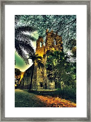Vasai Fort Framed Print by Salman Ravish