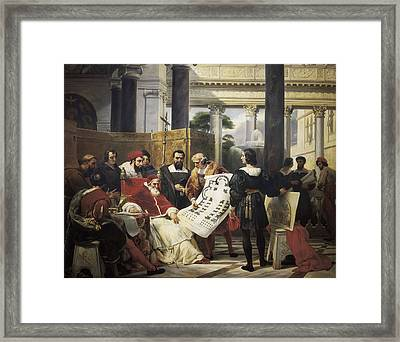Vernet, Emil-jean-horace 1789-1863 Framed Print by Everett
