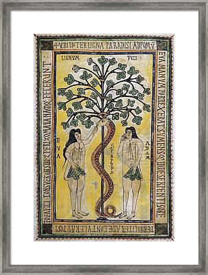 Vigilian Or Albelda Codex. 10th C Framed Print by Everett