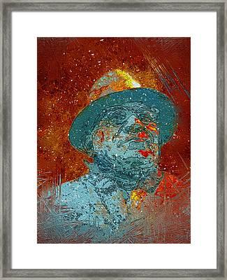 Vince Lombardi Framed Print by Jack Zulli