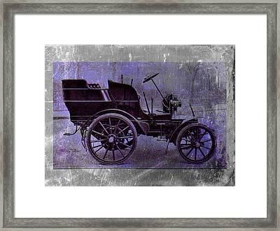 Vintage Car Framed Print by David Ridley