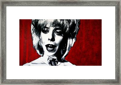 Was It Me Was It You Framed Print by Luis Ludzska