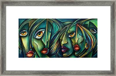 Watch Framed Print by Michael Lang