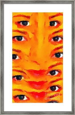 Weird 2 Framed Print by Chris Butler