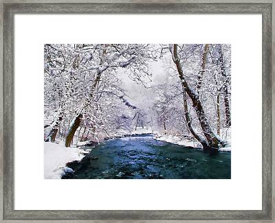 Winter White Framed Print by Jessica Jenney