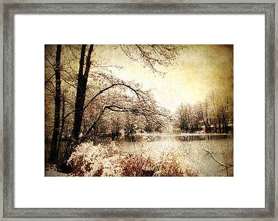 Winter's Arrival  Framed Print by Jessica Jenney